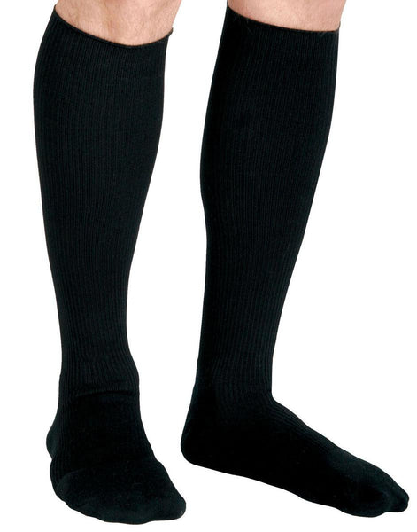 CURAD Cushioned Compression Socks,Black,C (MDS1714CBS) - MEDLINE Shop Now at LifeSupply.com
