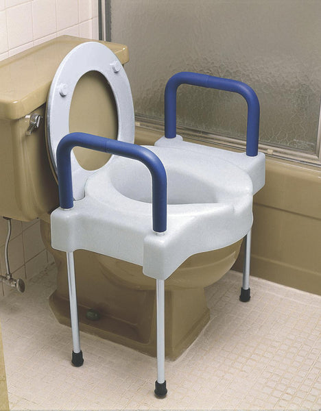 Bariatric X-Wide Raised Toilet Seat (MDS80326) - MEDLINE Shop Now at LifeSupply.com