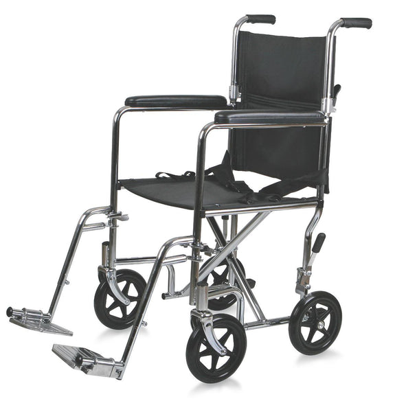 Steel Transport Chair,F: 8   R: 8 (MDS808150)