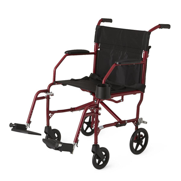 Ultralight Transport Chairs,Red,F: 6   R: 8 (MDS808200SLRR)