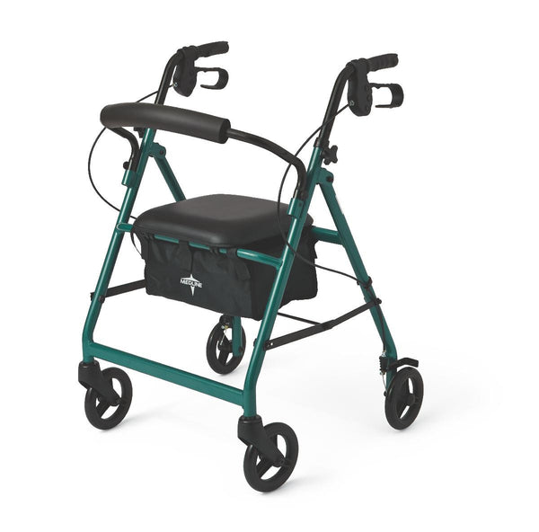 "Basic Rollators,Green,6"" (MDS86850EG) - MEDLINE Shop Now at LifeSupply.com"