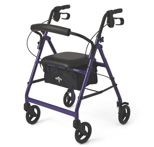 "Basic Rollators,Purple,6"" (MDS86850EP) - MEDLINE Shop Now at LifeSupply.com"