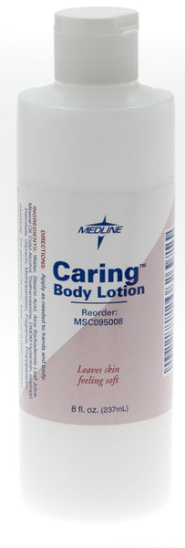 Caring Body Lotion,8.00 OZ (MSC095008) - MEDLINE Shop Now at LifeSupply.com