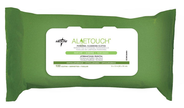 Aloetouch Personal Cleansing Wipes (6Pack/Case) (MSC263854) - MEDLINE Shop Now at LifeSupply.com