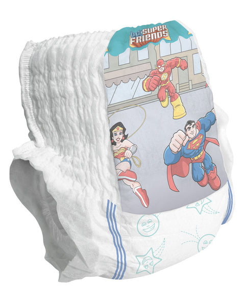 DryTime Disposable Training Pants,White,Sizes 1 - 6, Preemie - 35+ lbs (104/Case) (MSC29813)