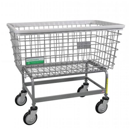 "R&B Wire 201H/ANTI Antimicrobial Mega Capacity ""Big Dog"" Laundry Cart"