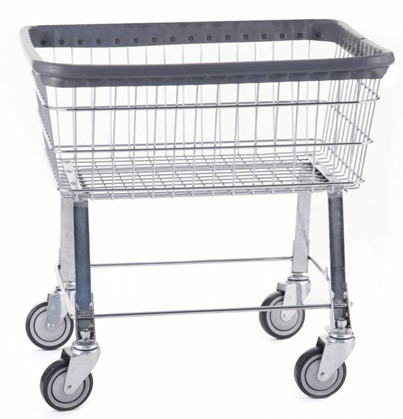 R&B Wire 96B Economy Laundry Cart