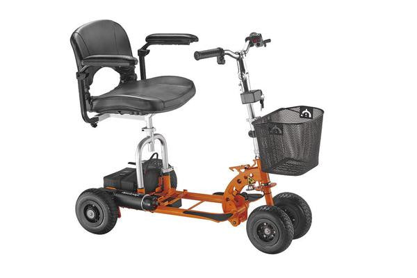 Supascoota Shopper Standard Lightweight Mobility Scooter (Orange)
