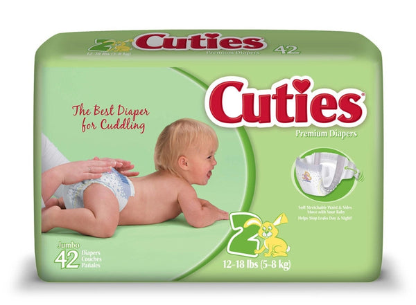 Cuties Baby Diapers CR2001   (699152PK) 42/PK