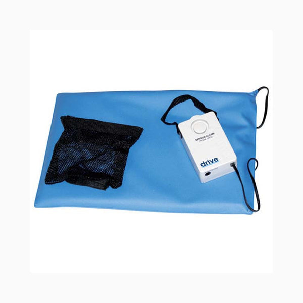 "Drive Medical Pressure-Sensitive Chair and Bed Patient Alarm 13608 Blue 10x15"" (634187EA) 1/EA"