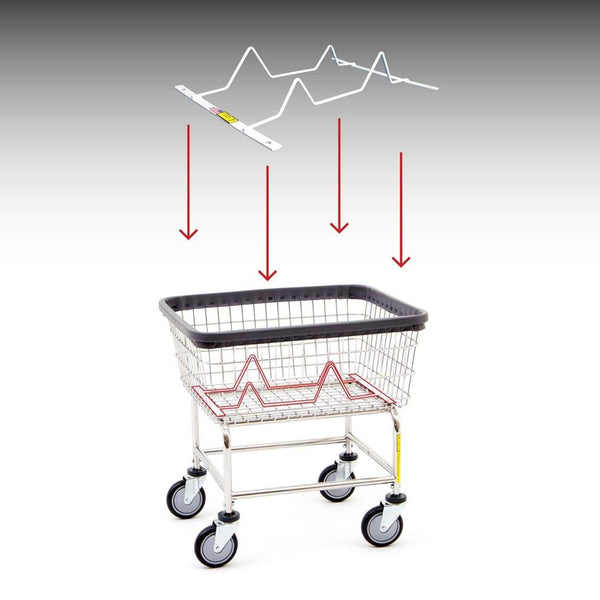 R&B Wire 100BSKINSRT Laundry Cart Child Basket Inhibitor