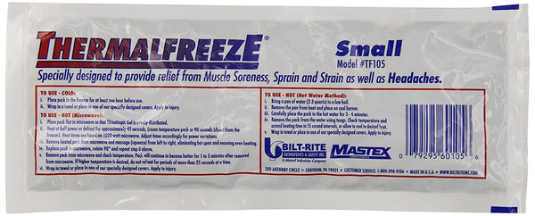 Bilt-Rite Hot-Cold Pack - Small White 100/BX (TF105)