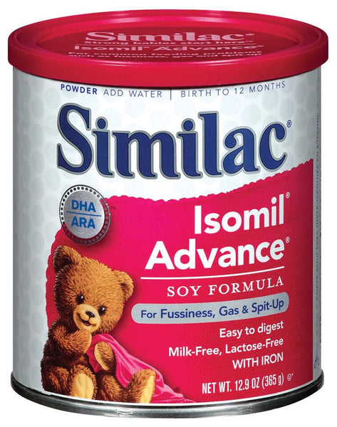 Similac Isomil Advance Soy Ready to Feed Infant Formula 5596378   (746697CS) 6/CS