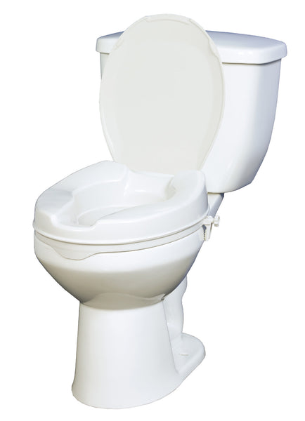 Drive Medical Premium Raised Toilet Seat with Removable Arms 12403   (688939EA) 1/EA