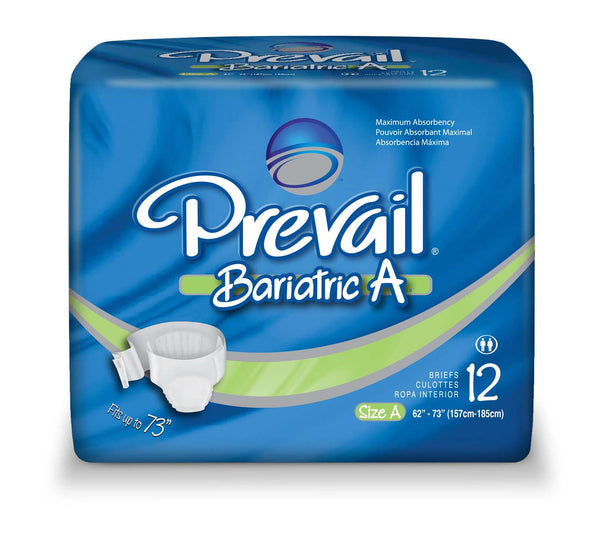 Prevail Adult Bariatric Brief PV-017 Green  (653235CS) 48/CS