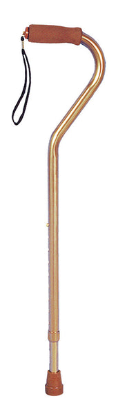 Drive Medical Offset Cane RTL10307 Bronze  (639839CS) 6/CS