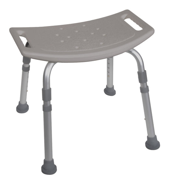Drive Medical Deluxe Aluminum Shower Bench without Back 12203KD-4 Gray  (693629EA) 1/EA