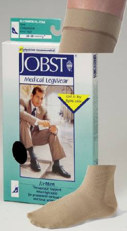 Compression Socks Jobst Knee-High 110301 Black  (642991PR) 2/PR