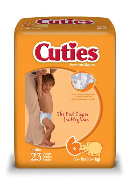 Cuties Baby Diapers CR6001   (763396PK) 23/PK