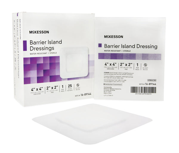 "McKesson Composite Island Dressing 16-89144  4x4"" (488920CS) 100/CS"