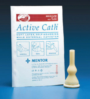 Active Cath Male External Intermediate Catheter with anti-leakage design 8305   (330157BX) 100/BX