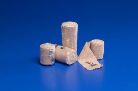 "Curity Elastic Bandages with Removable Clips 4206 Beige 6""x4-1/2 Yard (190741EA) 1/EA"