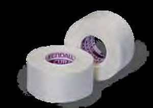 "Kendall Curasilk Hypoallergenic Silk Tape 7139C White 2""x10 Yards (696202CS) 60/CS"