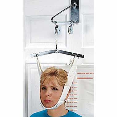 Bilt-Rite Cervical Overdoor Traction Set 16/BX (10-19000)