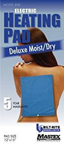 Bilt-Rite Standard Moist/Dry Heat Pad -3 Year Warranty Blue  (600-220)
