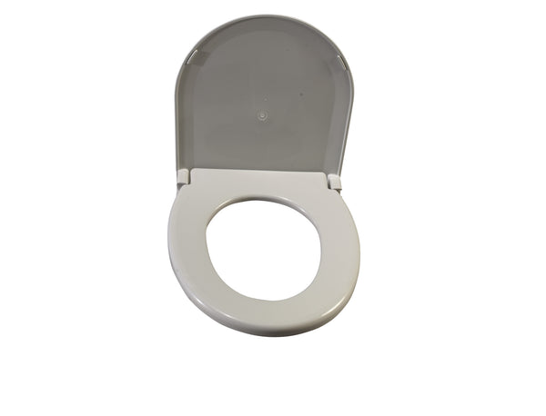 "Drive Medical Oblong Oversized Toilet Seat with Lid 11160-1  16-1/2"" D (676658EA) 1/EA"