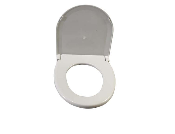 "Drive Medical Round Toilet Seat with Lid 11150-1 White 14-1/2 D"" (642259EA) 1/EA"