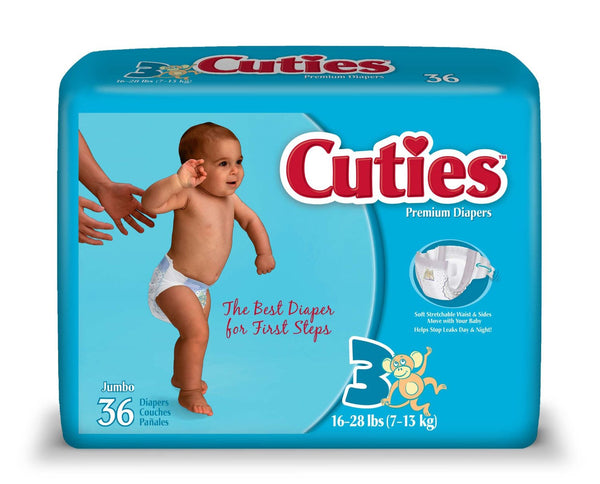 Curity Baby Diapers 80028A Pattern  (724688PK) 28/PK