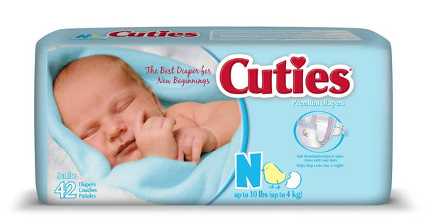 Cuties Baby Diapers CR0001   (706277BG) 42/BG