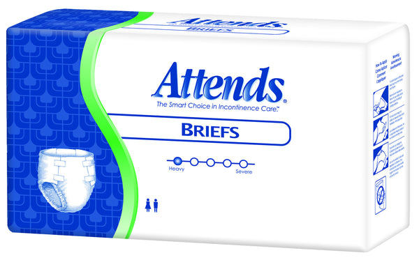 Attends Poly Brief BR25 White  (647674PK) 24/PK