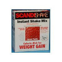 Scandishake Strawberry Weight Gain Nutritional Supplement 58914080244   (769298EA) 1/EA