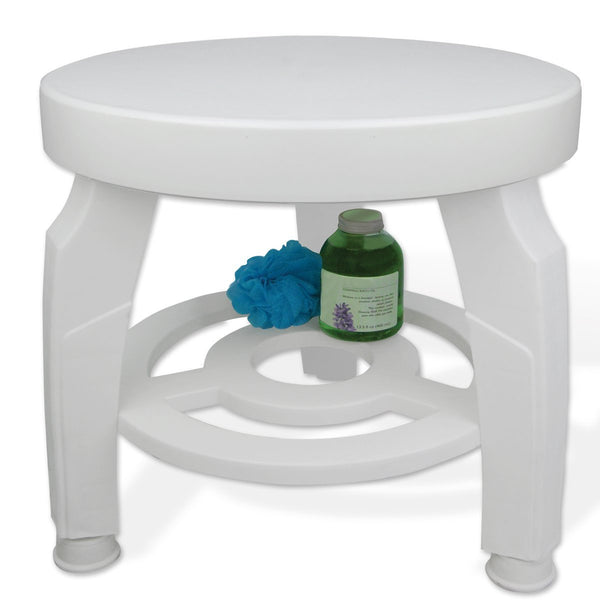Rotating Shower Stool JB5596 White  (877163EA) 1/EA