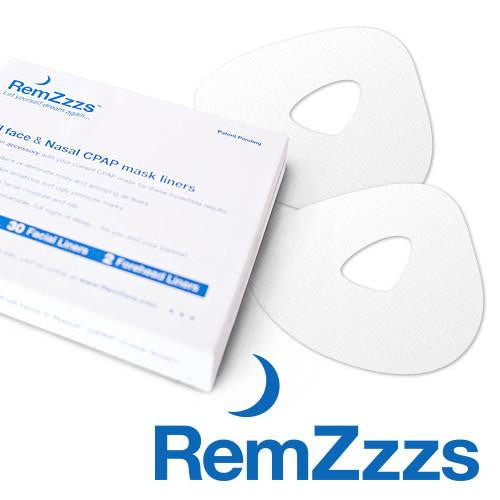 **10A-NXK** RemZzz's CPAP Mask Liners for Nasal Respironics True Blue, Resmed Swift, FP Zest: XS 30/cs (CAP3003XS)