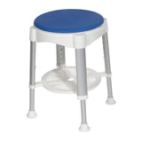 Bath Stool with Padded Rotating Seat (RTL12061) - Drive DeVilbiss Healthcare Shop Now at LifeSupply.com
