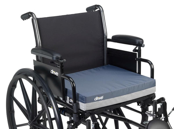 "Drive Medical Gel E 3"" Wheelchair Cushions 14903  18x24x3"" (691970CS) 1/CS"