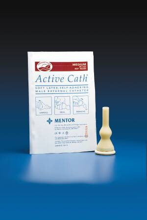 Active Cath Male External Medium Catheter with anti-leakage design C8300   (179395CS) 100/CS