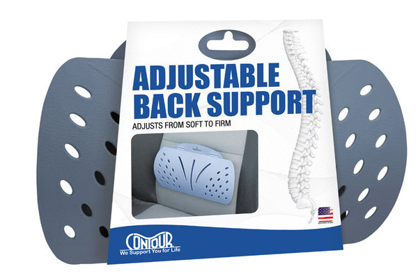 Contour Adjustable Back Support (30-050R)