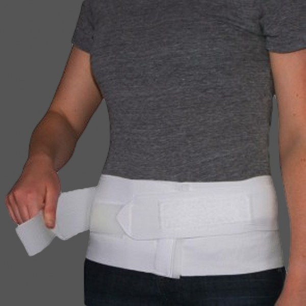 "Core Products Sacroiliac Support Triple Pull 6"" Sacral w/Split Pad Small  (SIB-6024-SML)"