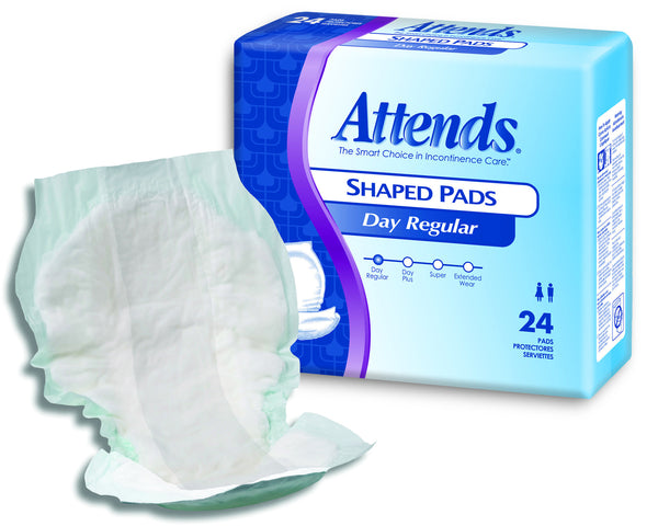 "Attends Day Regular Shaped Pads SPDR  24.5"" Length (647676BG) 25/BG"