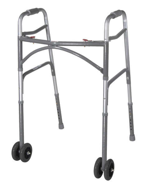Drive Medical Bariatric Aluminum Folding Walker 10220-2WW   (776877CS) 2/CS