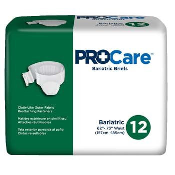 ProCare Bariatric Brief CRB-017   (832021CS) 48/CS