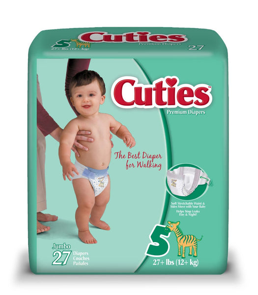 Curity Baby Diapers 80048A Pattern  (724686PK) 22/PK