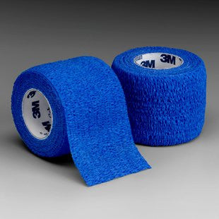"3M Coban Self-Adherent Wrap 1582B Blue 2""x5 Yard (222002CS) 36/CS"