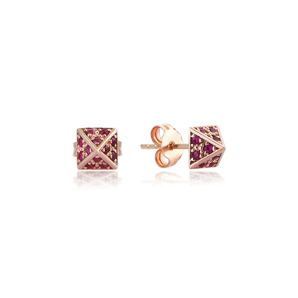 Giza Ruby Earrings