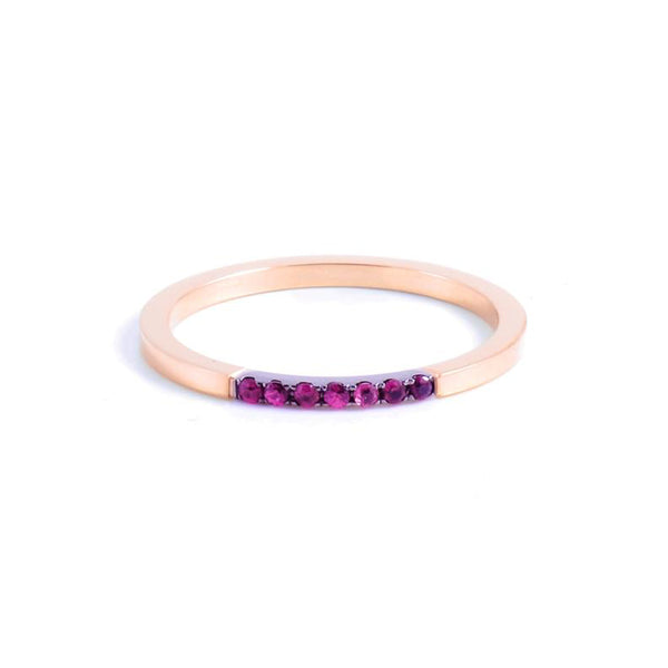 Sophie Band with Rubies