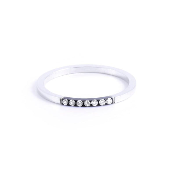 Sophie Band <br> with White Diamonds
